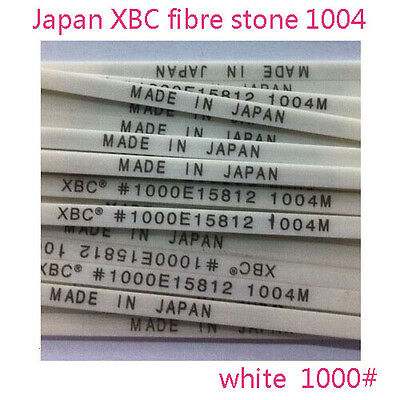 5 pieces polishing ceramic fibre stone Japan made 1004 white 1000# for lapping