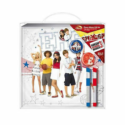 NEW! Disney High School Musical Photo Album Gift Set - HMTG (Lot)