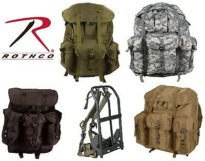 Military Style Large Alice Pack Backpack & Metal Frame 2266 2240 2275