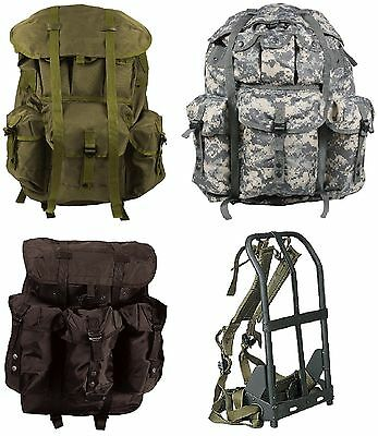 Military Style Large Alice Pack Backpack & Metal Frame 2266 2240 2275 #2