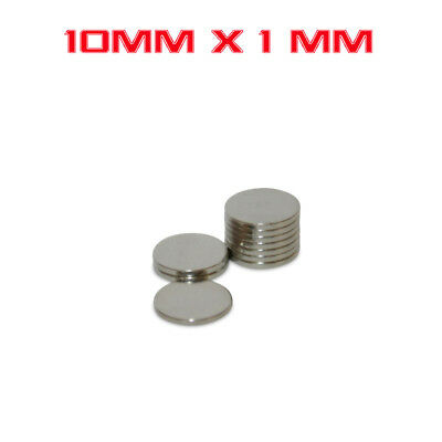 10/25/50/100X Strong Round Magnet 8mm x 1mm Rare Earth Neodymium No. 706