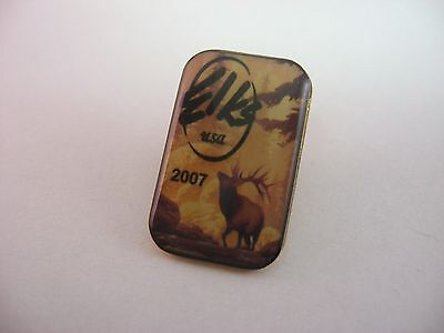 Lapel Hat Pin: 2007 Elks USA