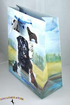 Newfoundland Dog Gift Present Bag