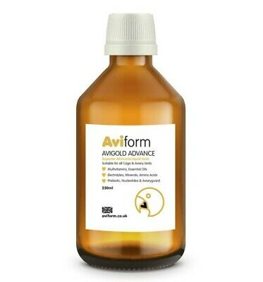 250ml NEW Aviform Advance All in One Cage Bird Tonic Supplement Vitamins Health