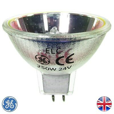 ELC 24v 250w GX5.3 Genuine GE A1/259 37462 | Disco / Stage / Studio Bulb