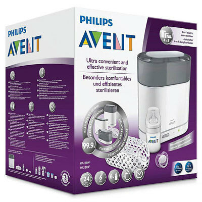Best Price! Philips Avent 4 In 1 Electric Steam Steriliser 0% Bpa Free Phillips