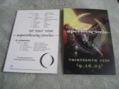 RARE PROMO A Perfect Circle 1x STICKER Thirteenth Step Puscifer TOOL cd lp tour