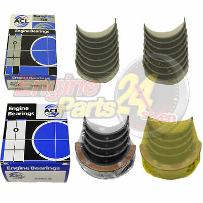 Holden 253 308 304 5.0L Main & Conrod Bearings Acl 5M2357 8B2356 In Std 010 020