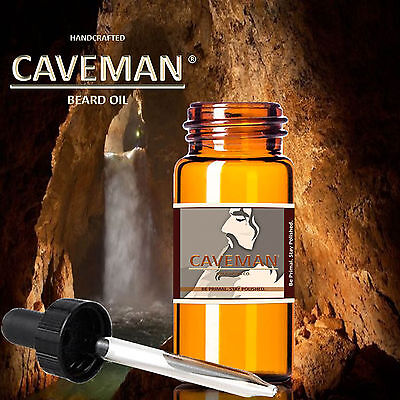 Free Comb Last Style Health & Beauty Hand Crafted Caveman® 3 Scents Hippie Beard Oil Beard Conditioner