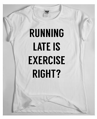 Funny gym T-shirt womens mens humour workout slogan top What I lack in skinnines