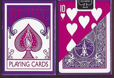 Bicycle Fashion Purple Playing Cards Deck Brand New