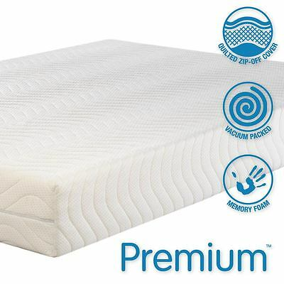 Premium 4000 Memory Foam Mattress All Sizes, Single, Double,King,S King