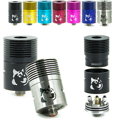 New! DOGE V2 RBA RDA Re-buildable Competition Tank Atomizer Clone No Drip-Tip