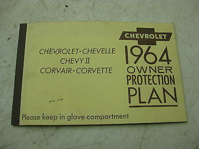 1964 Chevy Impala owners protection plan          1488