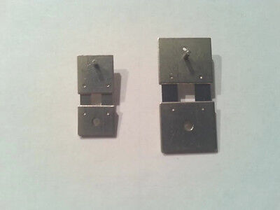 Set of 2 Clock Suspension Springs - 1 Large, 1 Small - FREE SHIPPING! Hermle