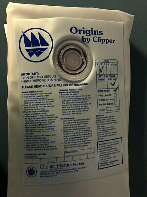 Waterbed Mattress Clipper Queen Soft Sided Water Bed Bladder Full Float