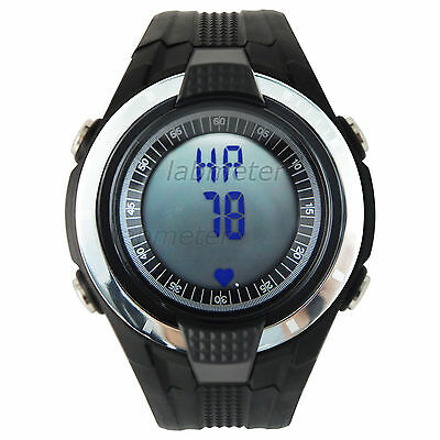 240bpm Fitness Sport Watch Heart Rate Monitor Pedometer Calorie Counter Exercise