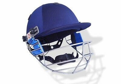 SS Matrix Cricket Helmet (Top Grade) Screw Adjusted Strap at the Back+Free Ship