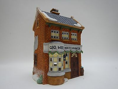 Dept 56 Dickens Village *geo Weeton Watchmaker* 59269 Retired In Box