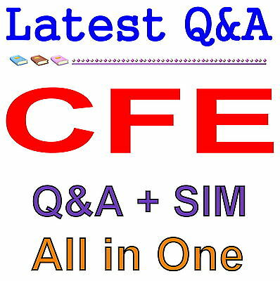 Certified Fraud Examiner CFE Exam Q&A PDF+SIM