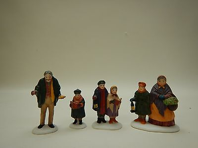 Department 56 Dickens Village Accessory Carolers On The Doorstep 5570-0  MIB