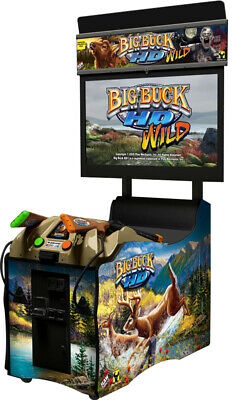 Big Buck Hunter Panorama HD Coin Operated Arcade Game & Home Version
