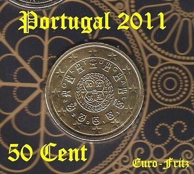 Portugal 2011 aus off. KMS  50 Cent   sehr selten ~**~