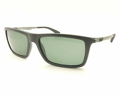 Ray Ban 4214 601-s/71 Matte Black Sunglass New Authentic