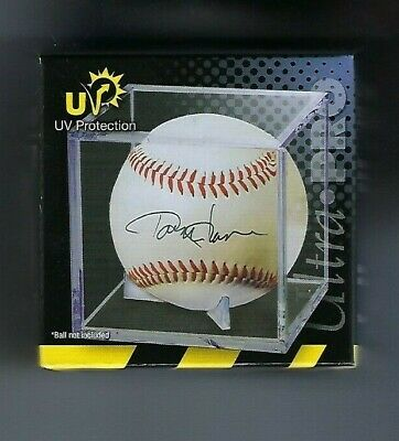 Ultra Pro Baseball Display Case Cube With Cradle, Uv Protection