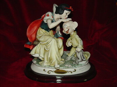 Snow White Kissing Dopey by Guiseppe Armani 733/5000