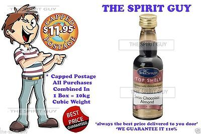 SWISS CHOCOLATE ALMOND LIQUEUR X 1 @ $6.00 each By STILL SPIRITS