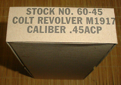 Colt 1917 WWI Military Issue Box