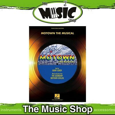 New Motown the Musical Vocal Selections Music Book - Piano & Vocal Songbook