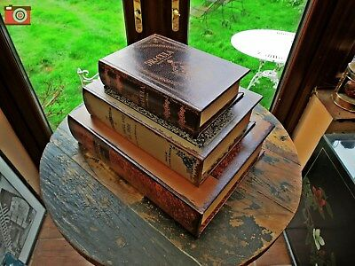 A Set Of 3 Beautiful Book Boxes... Horror Classics, Lovely Quality, Great Gift.