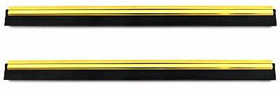 Professional Window Cleaning Blade Brass & Rubber Channel 5YR 300mm / 12""