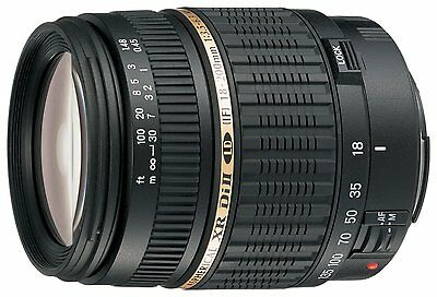 Tamron 18-200mm F/3.5-6.3 LD Di-II XR Aspherical IF Lens For Canon EOS Cameras
