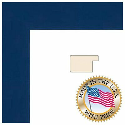 Art to Frames 2WOM0066-81792-YBLU-15x35 15 by 35-Inch Picture Frame  1.375-Inch