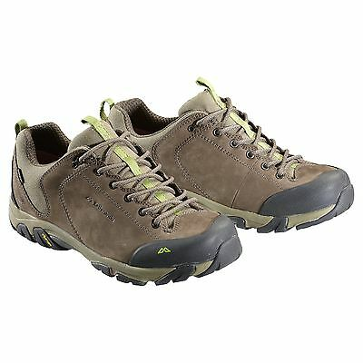 Kathmandu Strowan Mens NGX Waterproof Hiking Walking Shoes Vibram Sole Brown