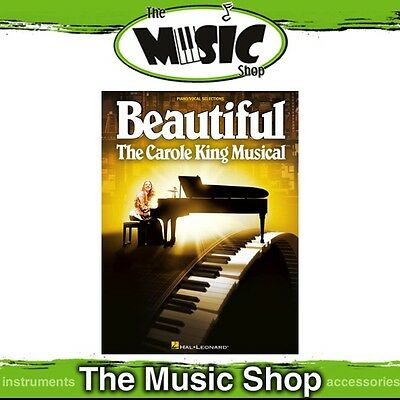 New 'Beautiful' The Carole King Musical Piano & Vocal Selections Music Book