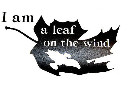 Firefly/Serenity Themed Leaf on the Wind Vinyl Decal - ORIGINAL DESIGN