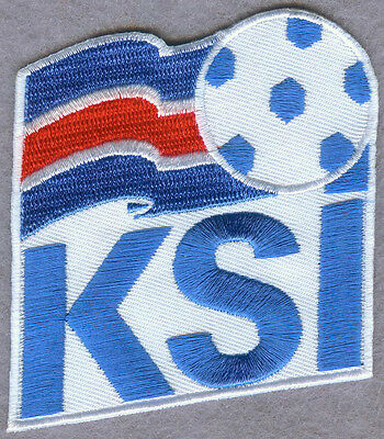 Iceland National Football Team FIFA Soccer Badge Patch