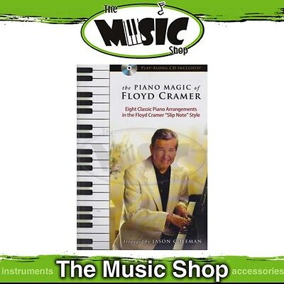 New The Piano Magic of Floyd Cramer Music Book for Piano Solo with CD