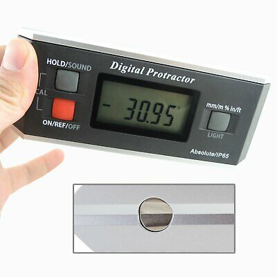 Electronic Digital Protractor Inclinometer Angle Finder Industrial Gauge Tool