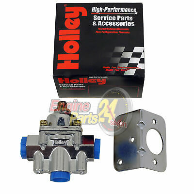 Holley 12-803 Fuel Pressure Regulator 4.5 - 9 Psi For Carby Applications