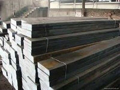 """Alloy 410 Stainless Steel Flat Bar, .625"""" x 1.5"""" x 63.75"""", Surplus Material, F"""