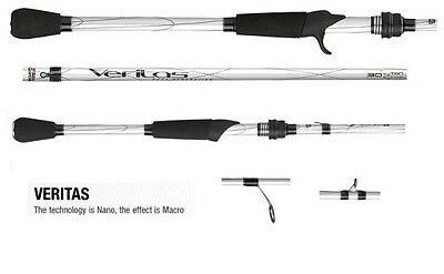 "Abu Garcia Veritas Fishing Rod Spinning Rod Bream Bass 6'9"" Baitcasting Rod"