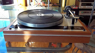 Nice THORENS TD-145 Stereo Turntable Record Player with Stanton Cartridge Stylus