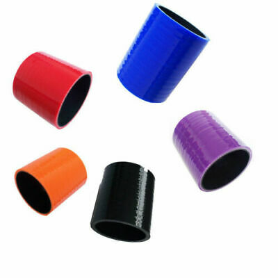 76MM LONG Silicone Hose Coupling Connector Pipe Silicon Rubber Joiner Coupler