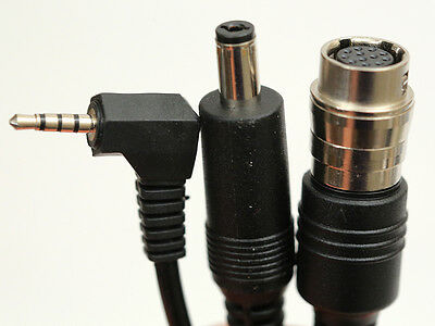 """2/3"""" B4 lens Y-cable VRT & Zoom Power 12v DC to 12 Pin Hirose Cable GH2 GH3 GH4"""