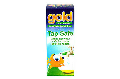 interpet gold tap safe, make tap water safe for gold fish by removing chlorine